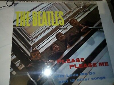 The Beatles - Please Please Me Official Calendar 2013..Album 50th Anniversary..