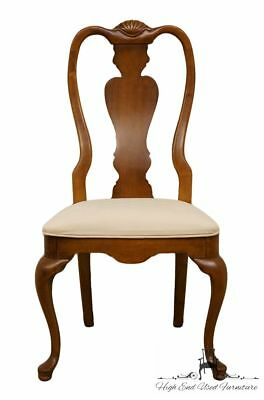 STANLEY FURNITURE Solid Cherry Queen Anne Style Dining Side Chair 0511-60