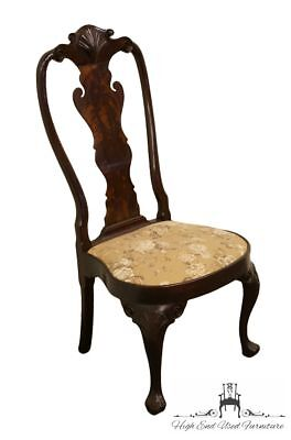 STICKLEY Queen Anne Splatback Mahogany Dining Side Chair