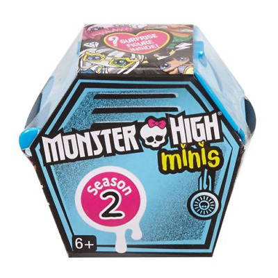Monster High Minis Season 2 Blind Box Bag Series 2 Mini Figure
