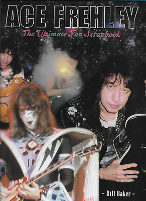 2008 Ace Frehley The Ultimate Fan Scrapbook Magazine great condition
