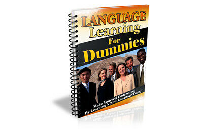 Language Learning for Dummies Education ebook-pdf book kindle Digital Delivery