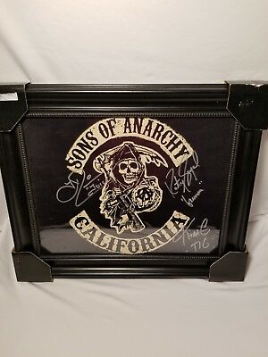 Sons Of Anarchy 3 Person Autographs With COA