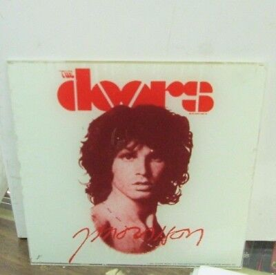 Jim Morrison Carnival Glass 6 X 6 Collectible Rare Vintage The Door Lizard King