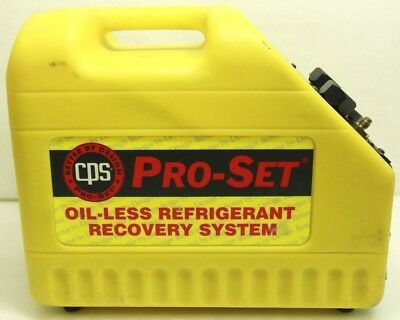 CPS Pro-Set CR500 Oil-Less Refrigerant Recovery System - Free Shipping