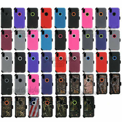 For Apple iPhone XR XS Max X / XS Case Belt Clip Fits Otterbox Defender Series