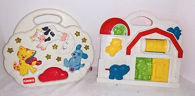 1993 Playskool Crib Soother Shelcore Crib Baby Toddler Toy Prop Vintage 1990s