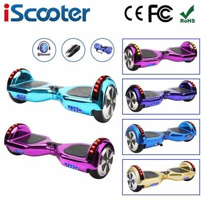 """6.5"""" Electric Scooter Self Balancing Scooter Balance Board Bluetooth iScooter"""