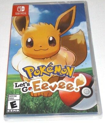 Pokemon: Let's Go Eevee Nintendo Switch Sealed brand new