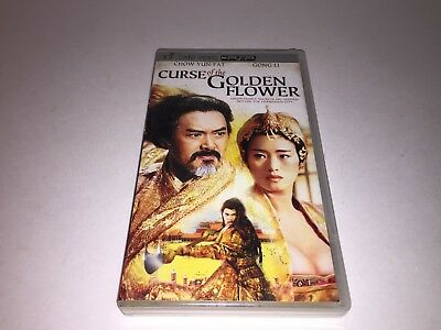 Curse of the Golden Flower (UMD, 2007) PSP MOVIE VIDEO PLAY STATION PORTABLE