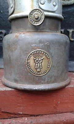 "A Nice Original Early ""The Premier Lamp"" Miners Lamp"