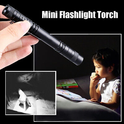 Portable 1000 Lumens LED Torch Mini Flashlight Outdoor Hiking Lamp Light Weight