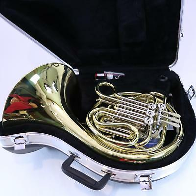Holton Model H378 Yellow Brass Double French Horn SUPERB CONDITION
