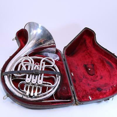 C.F. Schmidt Weimar Professional Double French Horn VINTAGE PLAYER