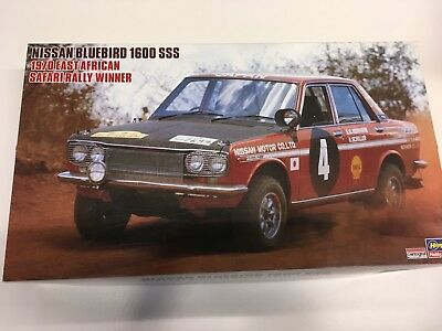 Nissan Bluebird 1600 SSS Safari Rally