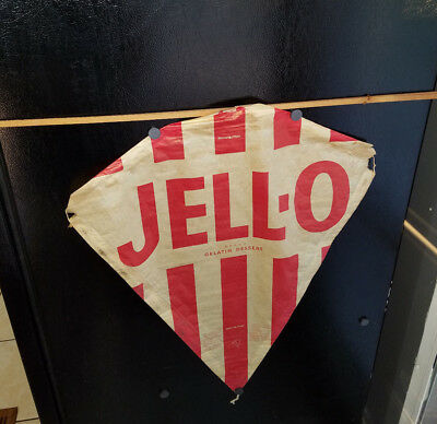 1950's-60's JELL-O WAX PAPER KITE ADVERTISING GELATIN DESERT