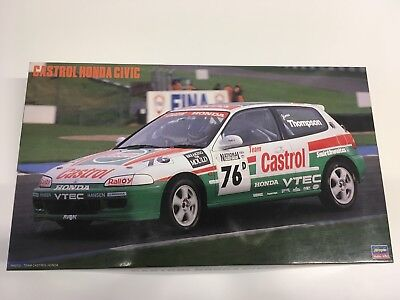 Honda Civic Castrol