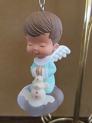 Hallmark Mary's Angels Snowball 20Th In Series 2007 Mint With Box