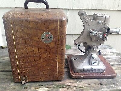 REDUCED-'50s 16m Projector Keystone, Belmont k-161with Case, Reel & Power Cord
