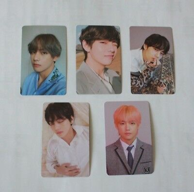 BTS V TAEHYUNG Official Photocard 5 Models Her