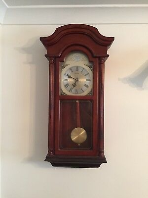 Large Wooden  Old Style Wall Clock