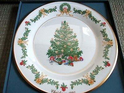 Lenox annual christmas trees around the world plate Austria 1995