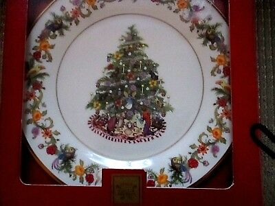 "Lenox annual christmas trees around the world plate  ""Brazil"" 2004"