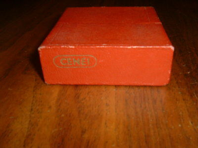 """Vintage Cenei Pop Up Film Slide Viewer 2"""" X 2"""" Made In Germany With Box"""