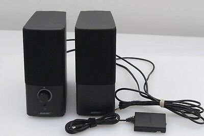 Exc++ Bose Companion 2 Series Iii Set Of 2 Speakers, Very Clean, Barely Used