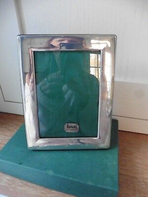 Harrods Vintage Sterling Silver Picture Photo  Frame. Boxed