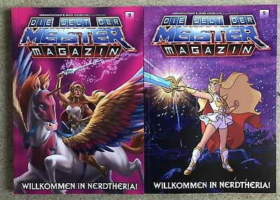 MEIMAG Nr. 9 Doppelpack *NEU* He-Man She-Ra Masters of the Universe