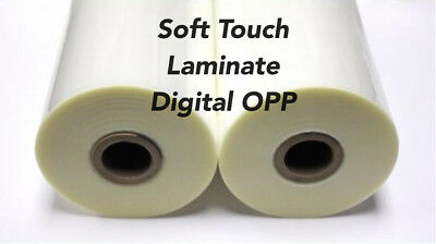 """Soft Touch Digital OPP Laminating Film 315mm Wide x 125m Long 1"""" Core Box Of 2"""