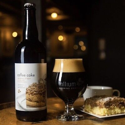 Trillium Brewing Coffee Cake ☕️🍰 Imperial Stout 1 Bottle