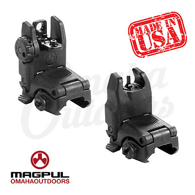 MAGPUL MAG247 & MAG248 MBUS Front & Rear Sights SET BLK NEW FAST SHIP