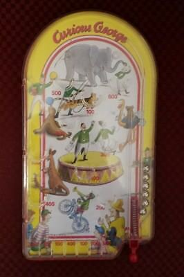 Curious George Toy Pinball Game