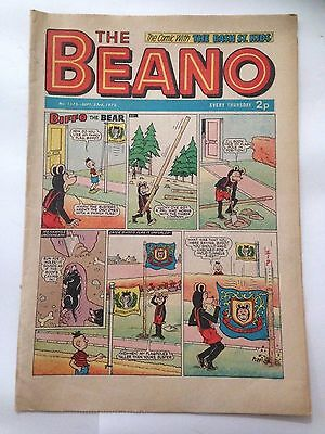 DC Thompson THE BEANO Comic. Issue 1575. September 23rd 1972 **FREE UK POSTAGE**