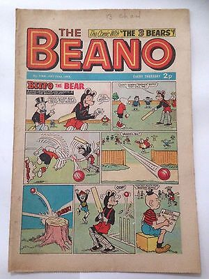 DC Thompson THE BEANO Comic. Issue 1566 July 22nd 1972 **FREE UK POSTAGE**