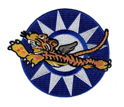WWII Flying Tigers 3rd Fighter Squadron Iron on Sew on Patch