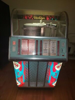 1954 Wurlitzer jukebox model 1600