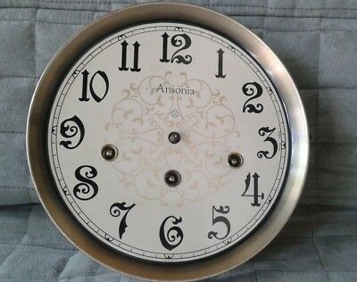 Antique Ansonia Open Escapement Clock Movement For Parts & Repair ☆West Germany☆