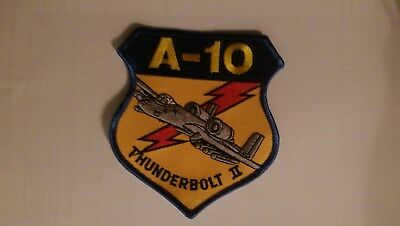 Military PATCH USAF Republic A-10 THUNDERBOLT II Warthog 109 Fighter Sqaudron
