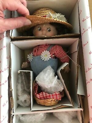 "Vintage Campbell's Soup ""The Little Gardener"" Campbell Kids Doll by Danbury Mint"