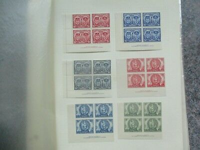 Pre decimal Stamps: Mint collection on pages - great mix of issues   (v183}
