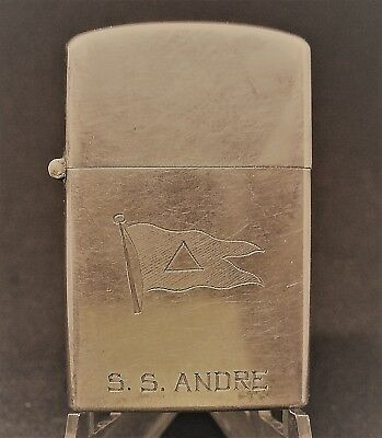 SS Andre Lighter with inscription