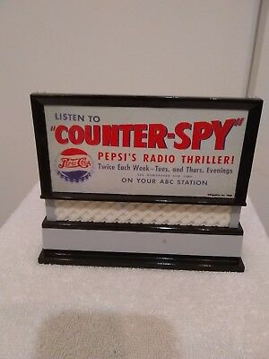 Liberty Classics Pepsi Counter-Spy Die-Cast Billboard Bank