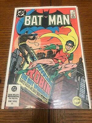 Batman Comic Book #368 DC Comics 1984 NM- 1st Jason Todd As Robin
