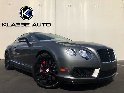 2014 Continental GT V8 S 2014 Bentley Continental GT V8 S Coupe Factory Aero Kit Only 7k Miles Perfect