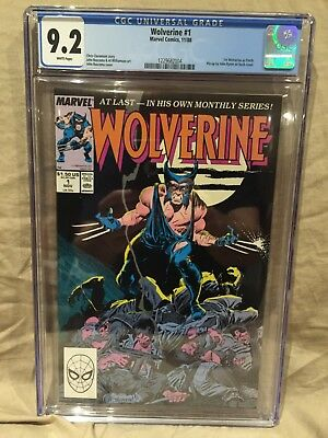 Wolverine # 1 CGC 9.2 NM- 1st Wolverine as PATCH