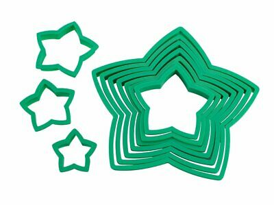 Star Christmas Tree Cookie Cutter Set of 10