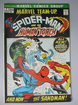 "Marvel Team-Up #1 featuring ""Spider-Man and the Human Torch"""